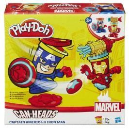 Play-Doh Kelímky ve tvaru Kapitán Amerika a Iron
