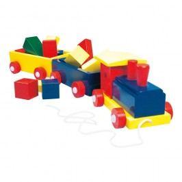 Bino Vlak velký, barevný - 2 vagony