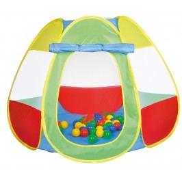 Knorrtoys Dětský stan s 50 balónky - barevný