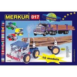 Merkur Stavebnice 017 Kamion 10 modelů - 202 ks