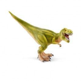 Schleich Prehistorické zvířátko - Tyrannosaurus Rex světle zelený s pohyblivou čelistí