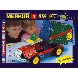 Merkur Stavebnice 3 30 modelů - 307 ks