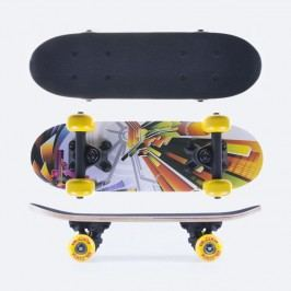 Spokey BLOXY Skateboard mini 43 x12,5 cm