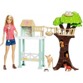 MATTEL Barbie Záchranná stanice lesních zvířátek