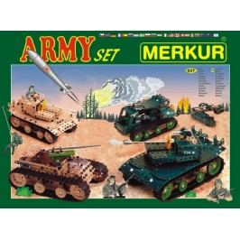 Merkur Stavebnice Army Set - 657 ks 2 vrstvy