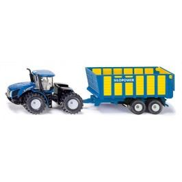 Farmer - Traktor New Holland s přívěsem Joskin, 1:50