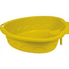Marian Plast Pískoviště-bazének Srdce, žluté
