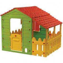 Buddy Toys Domeček FARM s verandou BOT 1130