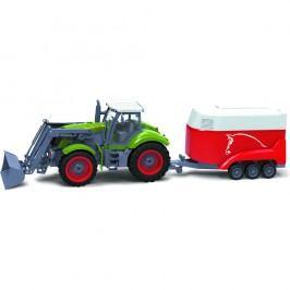 Buddy Toys RC Traktor + přívěs BRC 28.611