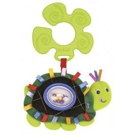 K's Kids Úchyt na kočárek - chrastící želva