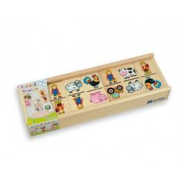ANDREU Toys Domino - farma