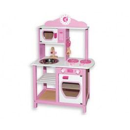 ANDREU Toys Růžová kuchyňka
