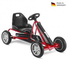 PUKY Dětská šlapací kára GO Cart F 20 černo/červená