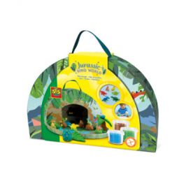 SES Creative Dino svět Jurský park (kuřík s plastelínou)