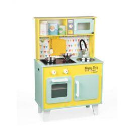 Janod® kuchyňka Happy Day 06564 zeleno-žlutá