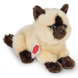 Teddy HERMANN® Ležící siamská kočka, 20 cm