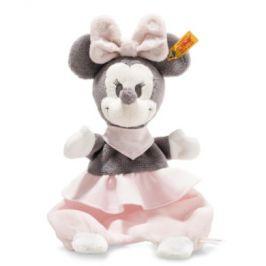 Mycí hadr Steiff Disney Minnie Mouse s praskající fólií, 29 cm