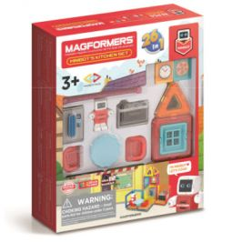 MAGFORMERS ® Minibot's Kitchen Set