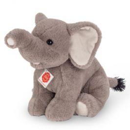 Teddy HERMANN ® Slon sedící, 35 cm