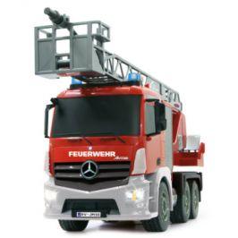 Jamara RC Hasičský Vůz Mercedes Antos 4+6 Kanál RTR Zvuk Se Světly 4x4 2,4 GHz Ovladač červená 1:20