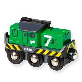 BRIO Nákladní lokomotiva na baterii