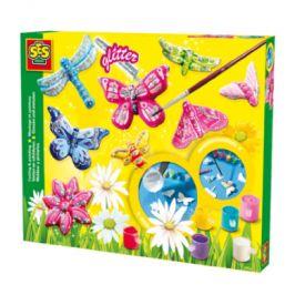 SES Creativ e® casting třpytivých motýlů