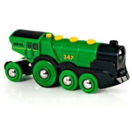 BRIO Zelená lokomotiva Gustav
