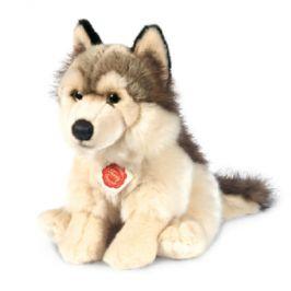 Teddy HERMANN vlk sedící, 29 cm