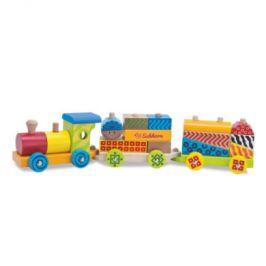EICHHORN Color - Malý vlak, 18-dílný