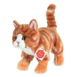Teddy HERMANN Kočka stojící červený tygr t, 20 cm