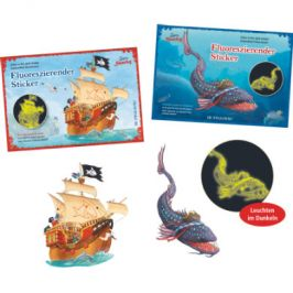 COPPENRATH Glow Stickers - Capt'n Sharky