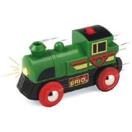 BRIO Speedy Green, lokomotiva na baterie