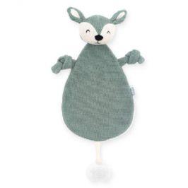 Jollein Cuddle hadřík jelen zelený popel