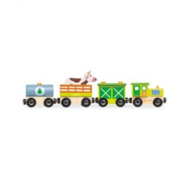 Janod Story vlak na farmu s figurkou
