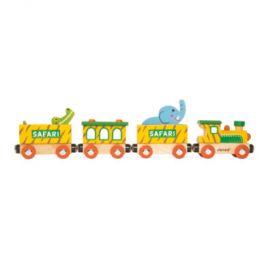 Janod Story Train Safari s figurkou