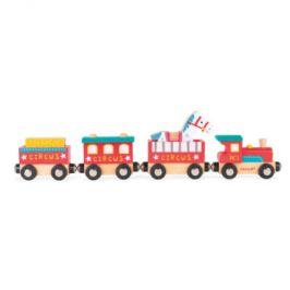 Janod Story vlak Safari s figurkou
