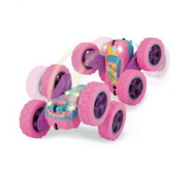 DICKIE toys Pink Drivez RC Candy Flippy