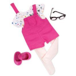 Naše generace - Outfit Krátké kombinézy s košili a brýlemi