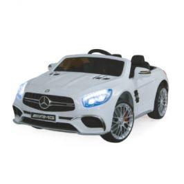 JAMARA Kids Ride-on - Mercedes SL65 bílá 12V
