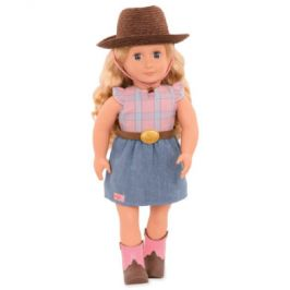 Our Generation panenka Lea Rose cowgirl 46 cm
