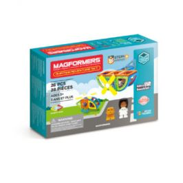 MAGFORMERS Magformers Aviation Adventure Set