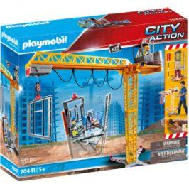 LAYMOBIL CITY ACTION RC stavební jeřáb s komponentou