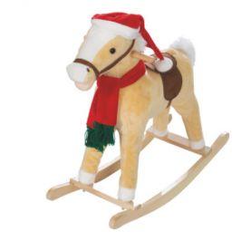 Roba houpací kůň Vánoce