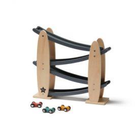 Kids Concept dráha s auty Aiden, šedá