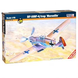 Mister Craft Model letadla Messerschmitt BF-109F-4/Trop Marseille C-40