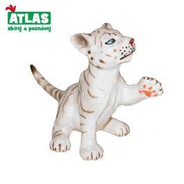Atlas A - Figurka Tygr bílý mládě 6cm
