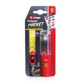 Bburago Bburago Ferrari Pocket Garáž s vystřelovačem karta