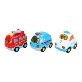 Wiky Vehicles Auta set 3 ks 8 cm