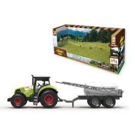 Wiky Vehicles Traktor s přívěsem na postřik 31 cm