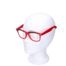 Wiky Wiky Brýle na karneval s řasami